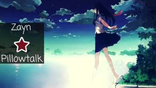 Nightcore Pillowtalk No Sleep Remix