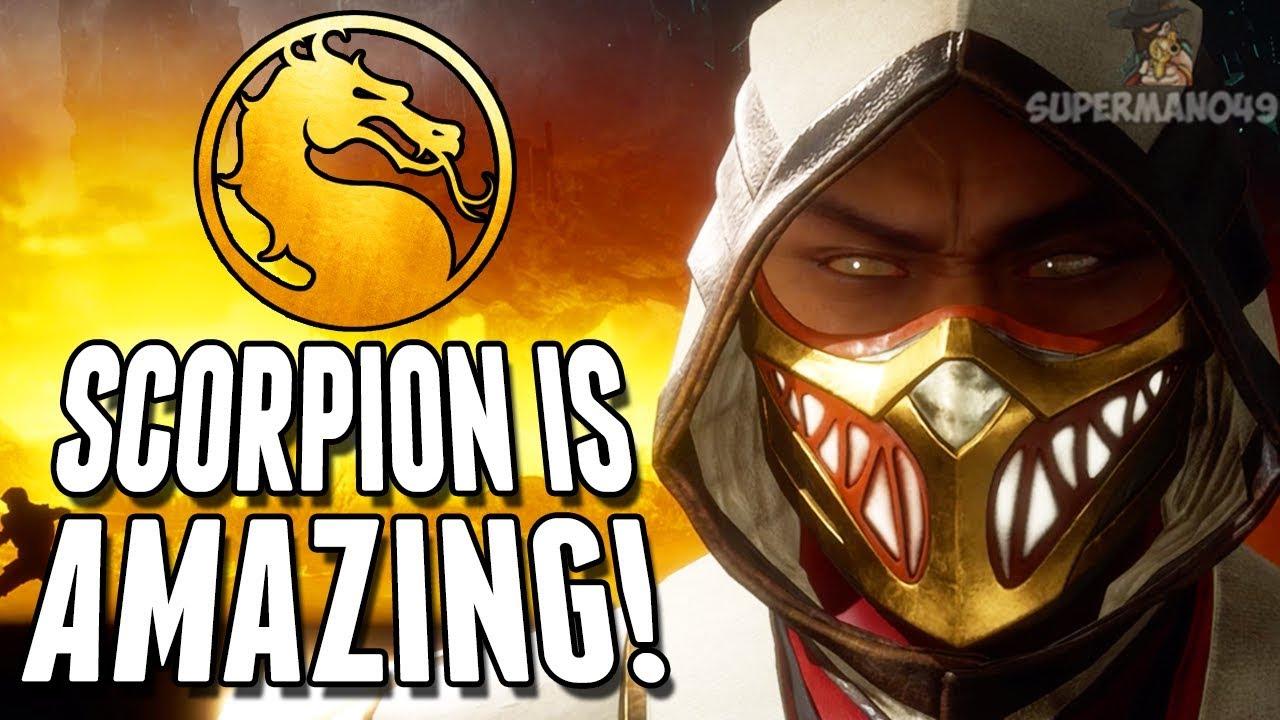 "Scorpion Is AMAZING! - Mortal Kombat 11 ""Scorpion"" Gameplay thumbnail"