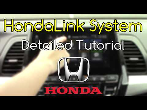 HondaLink 2018 Detailed Tutorial And Review: Tech Help