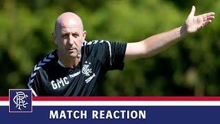 REACTION | Gary McAllister | Rangers 3-1 TNS