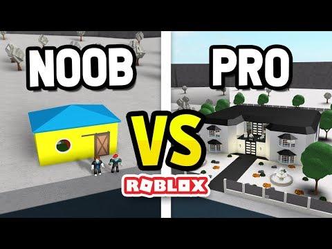ROBLOX NOOB vs PRO in BLOXBURG