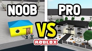 ROBLOX NOOB vs PRO in BLOXBURG