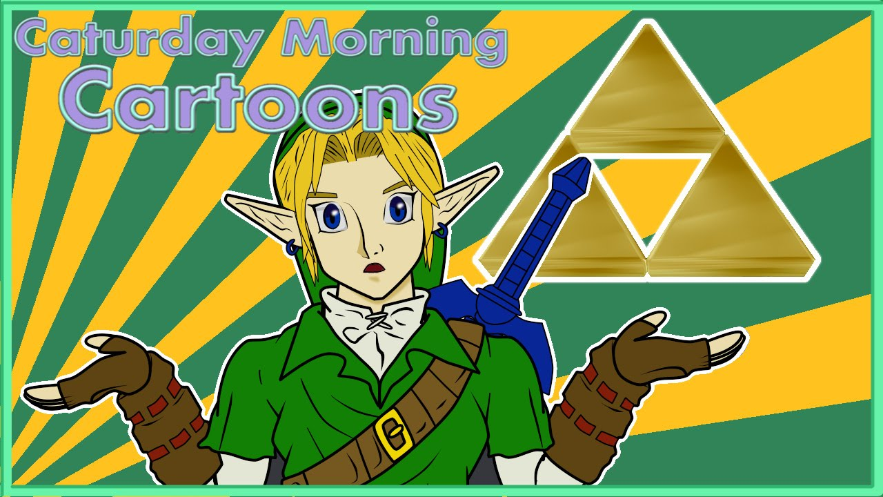 Why link doesn t talk caturday morning cartoons short 5 youtube
