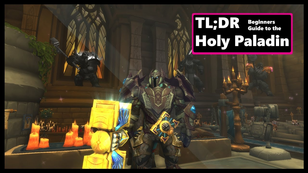 Holy Paladin Guide 7 3 | Basics for beginners