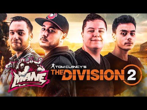 DECOUVERTE THE DIVISION 2 AVEC LES MANE ! (ft. Carbon,Mickalow,Akytio)