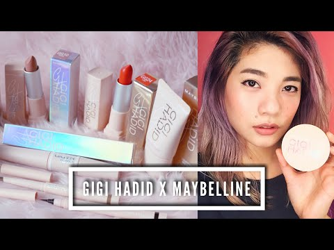 🌸 GIGI HADID X MAYBELLINE | First Impressions review AND wear test!