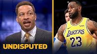 LeBron James is 'one of four leading candidates' for NBA MVP — Chris Broussard | NBA | UNDISPUTED