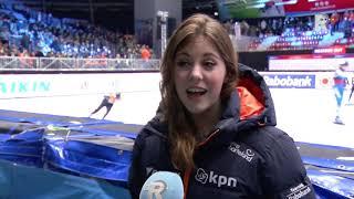 Avalon Aardoom afwezig op het EK shorttrack in 'haar' Dordrecht