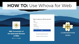 HOW TO: Use Whova for Web