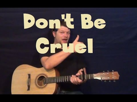 don't-be-cruel-(elvis)-easy-guitar-lesson-how-to-play-tutorial