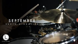 September - Earth, Wind & Fire [ drum cover ]