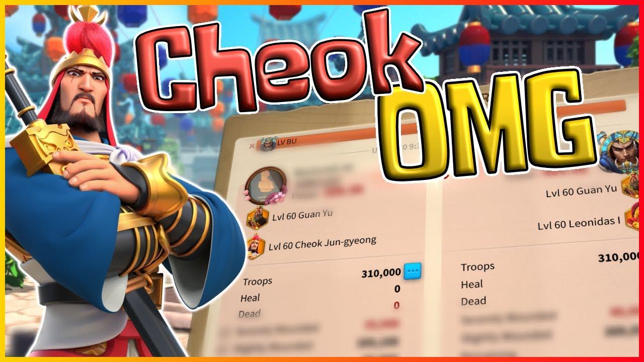 Download CHEOK JUN-GYEONG New Open Field Meta? SURPRISING RESULTS!! [Rise of Kingdoms]