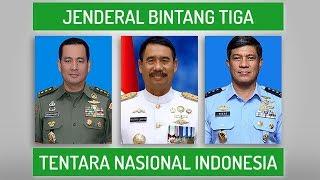 19 Jenderal Bintang 3 Tentara Nasional Indonesia 2018