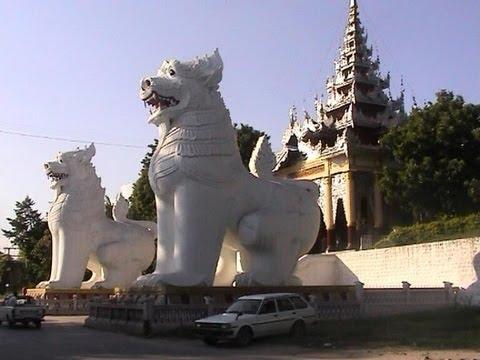 Burma / Myanmar - Mandalay Royal Palace - Mandalay Hill - U Bein Bridge