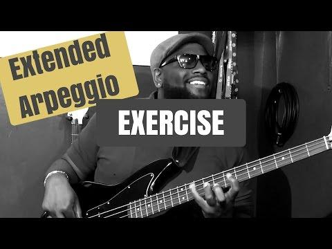 EXTENDED ARPEGGIO EXERCISE | Bass Guitar Tips ~ Daric Bennett's Bass Lessons