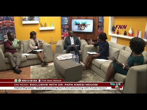 Exclusive Interview with Dr Nduom On FNN (August 10, 2017) P