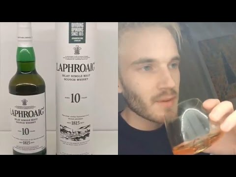PewDiePie Stories Laphroaig Scotch Whisky