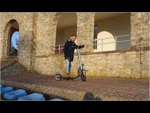 Ninebot ES2 Scooter Roller Test https://www.electro-sport.de SUB EN/ES/PL/RU
