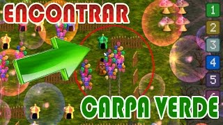 COMO ENCONTRAR LA CARPA VERDE UPDATE 2 FNAFWORLD