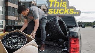 Allison got SICK new wheels!.. but I had to send them back...