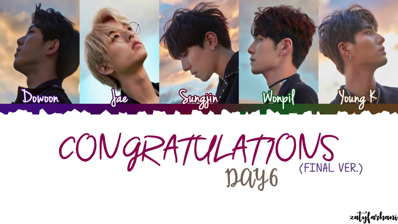 Congratulations (Final Version) - DAY6 [Download FLAC,MP3]