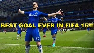 FIFA 15 - Eden Hazard AMAZING GOAL!!! (Chaos)