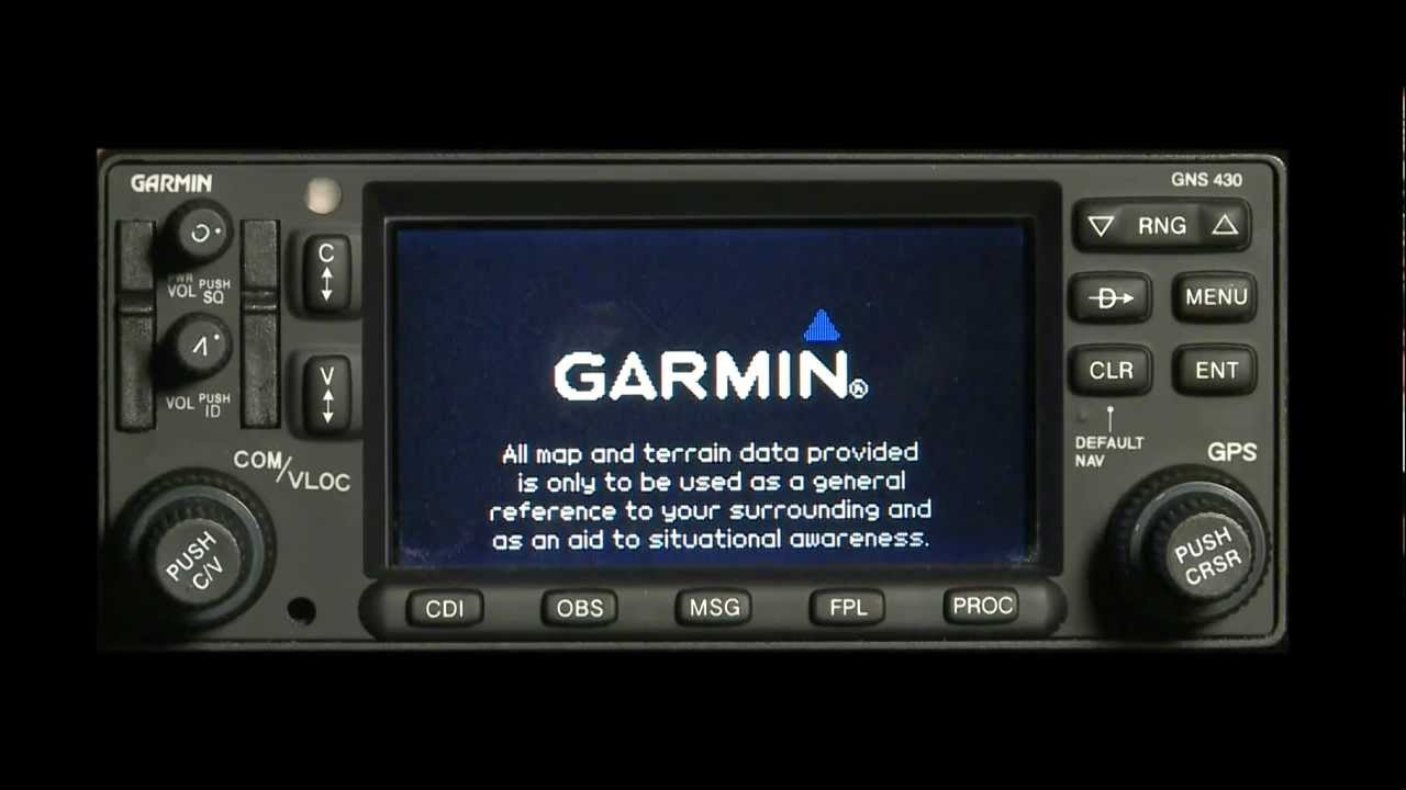 Garmin 400/500 Series Uploading