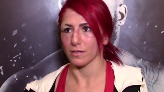 ufc fight night 105 s randa markos post fight speech on bullying directed at carla esparza