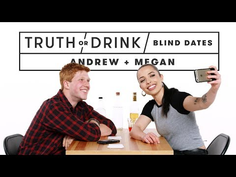 Blind Dates Play Truth Or Drink (Andrew & Megan) | Truth Or Drink | Cut