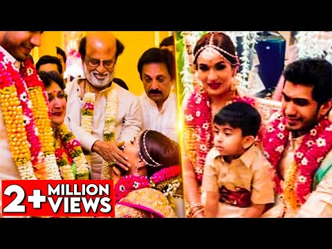 EMOTIONAL MOMENTS : Soundarya Rajinikanth & Vishagan's Wedding Celebrations | Marriage Video