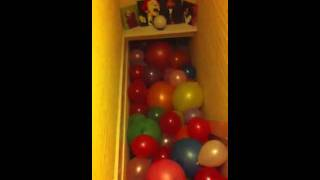 More balloon diving/sliding