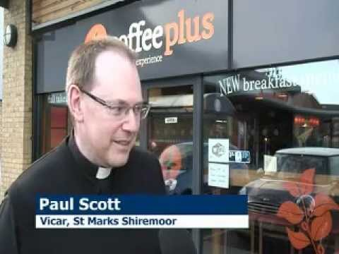 North East coffee shop gets a special visitor - the Archbishop of York