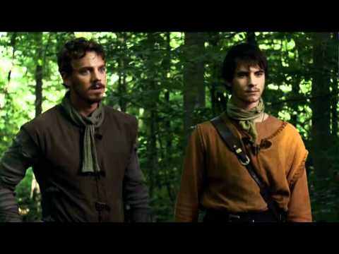 BBC Robin Hood - Allan A Dale Busy Not Being Funny