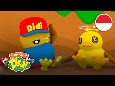 Didi & Friends Indonesia   Lagu & Cerita Lucu Anak-Anak Balita   Kwek Dalam Bahaya