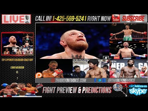 Mayweather vs. McGregor: 5 Opponents McGregor Could Beat in Boxing