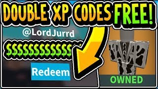 """🔥ALL ISLAND ROYALE DOUBLE XP UPDATE BUCKS CODES 2019!!"" Island Royale DOUBLE XP! Update (Roblox)"