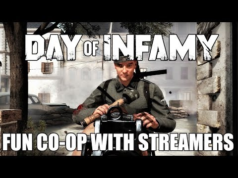 Fun Day of Infamy Co-op with streamers!