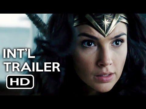 Wonder Woman Official International Trailer #1 (2017) Gal Gadot, Chris Pine Action Movie HD