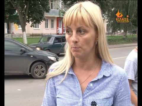 В  Ельце  на перекрестке улиц Коммунаров и Героев произошло ДТП