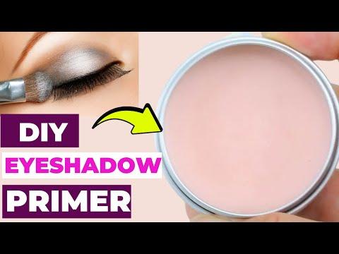 How To Make Eye Shadow Primer At Home | Eye Primer - MONEY-SAVING EYE SHADOW Primer