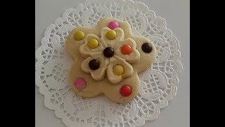 Çocuklarınızın Severek Yiyeceği BONBONLU Çiçek Kurabiye Tarifi