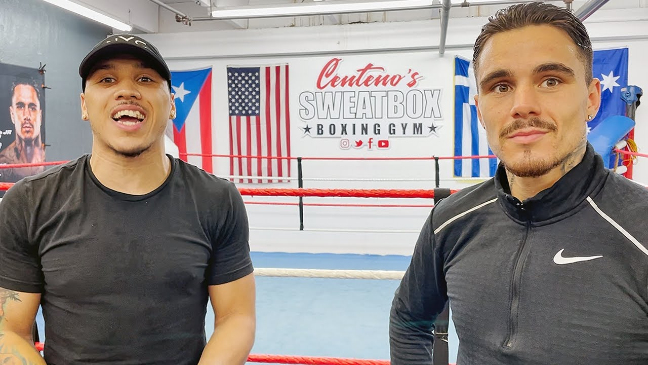 """KAMBOSOS SPARRING PARTNER WARNS TEOFIMO LOPEZ ABOUT """"SPEED AND TIMING"""" SAYS GEORGE READY FOR FIGHT"""