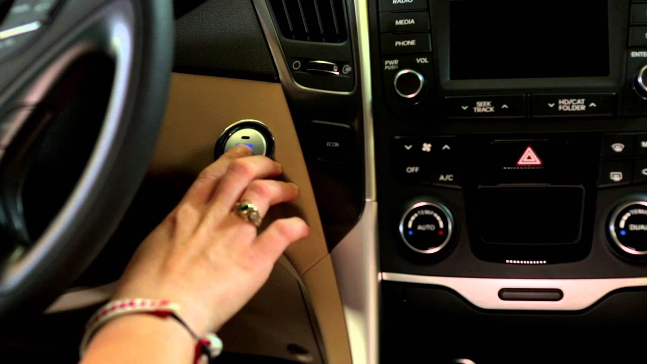 How To Override The Push Button Start - YouTube