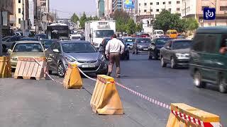 أمانة عمّان الكبرى تواصل الأعمال الإنشائية في نفق الصحافة - (10-9-2017)