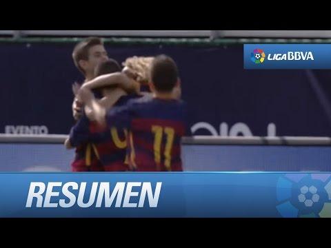 Resumen de FC Barcelona (4-1) Crystal Palace FC