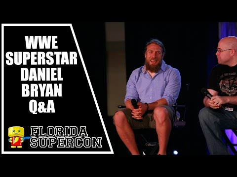 WWE Superstar Daniel Bryan Q&A at Florida Supercon 2015