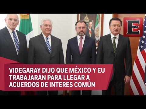 Conferencia de prensa conjunta de Videgaray con...