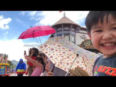 Hongkong Disneyland Summer Parade