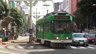 【警笛付】【札幌市電】山鼻線 西4丁目行 資生館小学校前 Japan Hokkaido Sapporo Streetcars