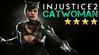 Injustice 2 Mobile - Женщина-Кошка. Как сделать длинное комбо (ios) #21